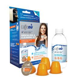 Caffenu cleaningkit cleaning and descaling in 1 set